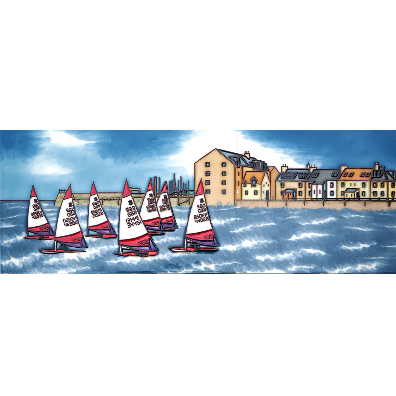 Racing Dinghies at North Berwick