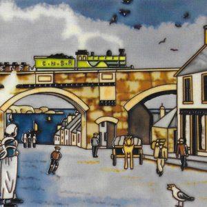 Cullen Train Picture Tile
